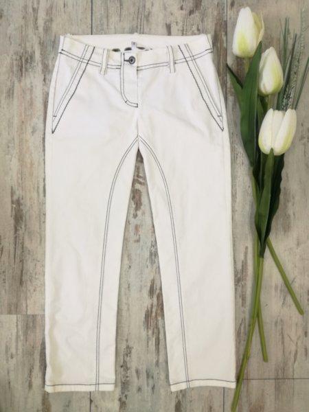 Дамски бели дънки